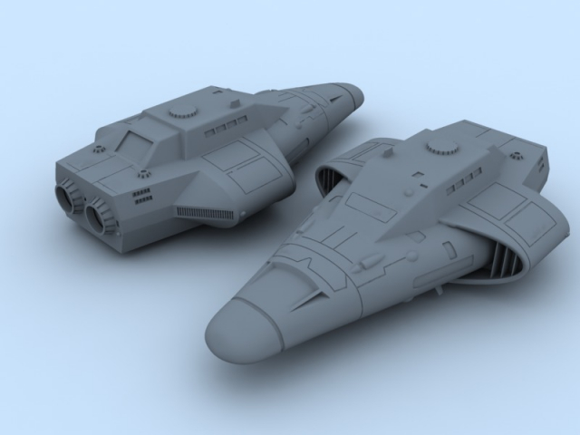 Free Trader model for 3D prototyping
