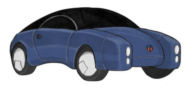 Electric Commuter Car (from Concept Art Forum)