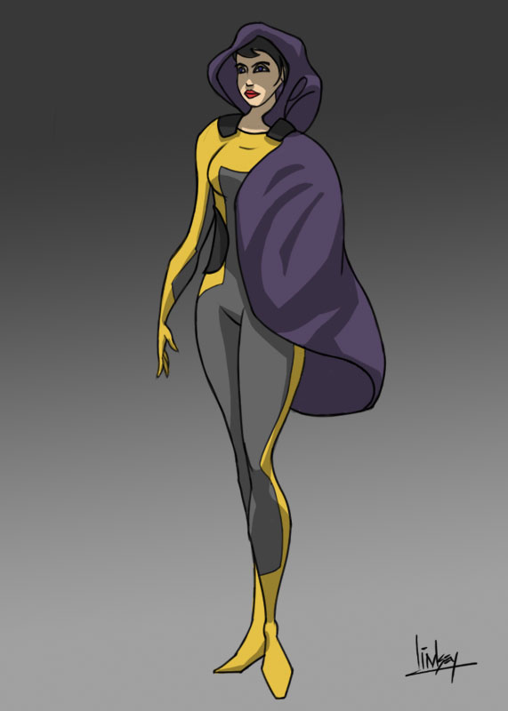 Explorer in weird cape? thing