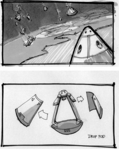 Orbital Drop Pod Concept