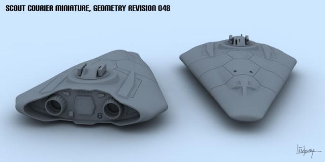 Scout miniature 3D model