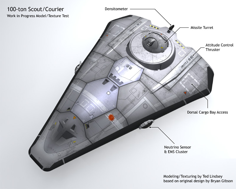 Type S Scout/Courier Work in Progress