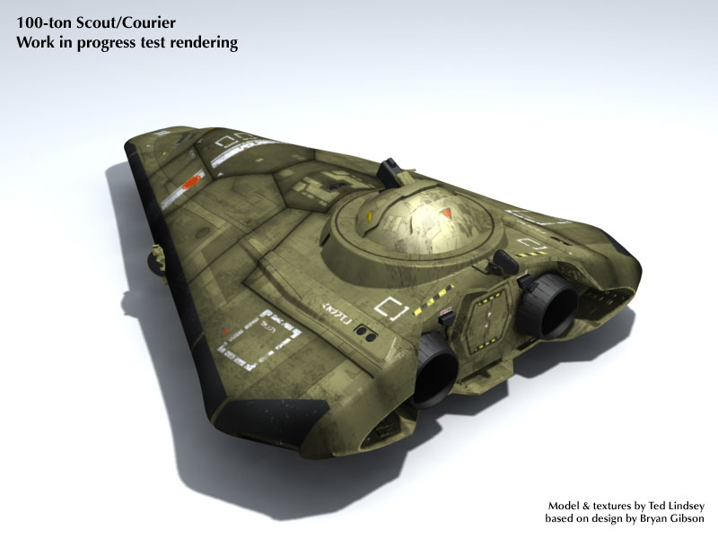 Type S Scout/Courier (Laser Turret)