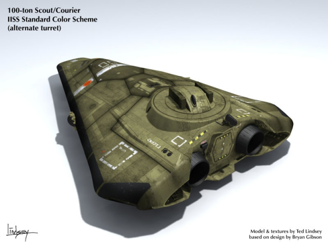 Type S Scout/Courier (Missile Turret)